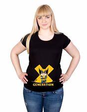 New Maternity Pregnancy 10-20 Wolverine Print Cotton Top Tunic T-Shirt 0033