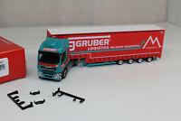 ht668, Herpa 310512 Iveco Stralis XP Volumen-Sattelzug Gruber Logistics
