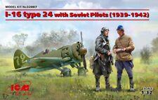 Icm 32007 escala 1/32 I-16 Type 24 with Soviet Pilots(1939-1942)