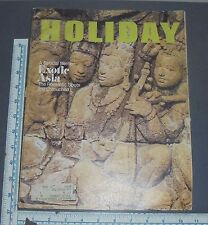 HOLIDAY MAGAZINE 1970 FEBRUARY EXOTIC ASIA KYOTO BANGKOK HONG KONG