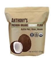 Anthony's Organic Coconut Flour  4LB 100% Verified Gluten-Free & Non-GMO New