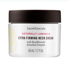 bareMinerals Natural Luminous Extra Firming Neck Cream 1.7 oz / 50 ML New in Box