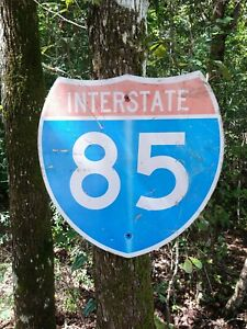 Retired I-85 Interstate 85 Road Sign