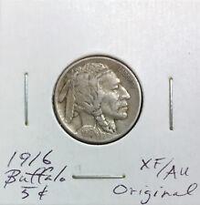 1916 Buffalo Nickel ~ *XF/AU* ~ Strong Original Details