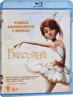 *NEW* Leap! (Ballerina) (Blu-ray, 2017) Russian only, Region free
