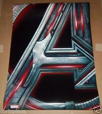 "The Avengers Original Two Sided Movie Poster, 27""x 40"" Size, Free Shipping Incl."
