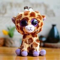 "6""ty Beanie Boos Glitter Eyes Plush Stuffed Animals Toys Kids Xmas Gift With tag"