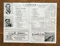 ON THE TOWN Dec 22 1949 WORLD PREMIERE Radio City Music Hall GENE KELLY SINATRA