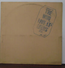 The Who Live at Leeds vinyl DL79175   062418LLE