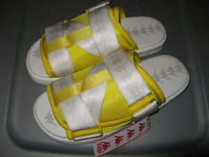 Kappa 222 Banda Mitel 1 Mens Casual Sandals Strap Slides Yellow 9