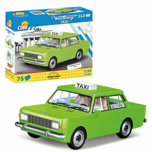 COBI  Auto / Cars Bausatz SET 24528 DDR Wartburg Taxi 353 W