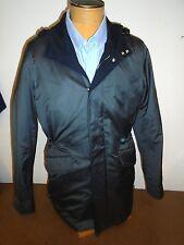 Ermenegildo Zegna Silk Blend Hooded Field Jacket NWT Medium Euro 52 $2995 Gray