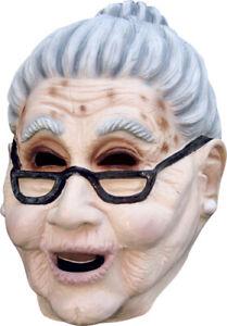 Grandma Old Lady Adult Mask for Halloween Costume