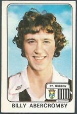PANINI FOOTBALL 79 #588-ST MIRREN-BILLY ABERCROMBY