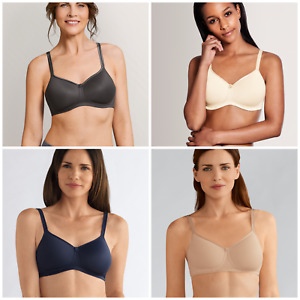 Amoena Mara Non Wired Soft Bra Pocketed Bra Suitable For Prosthesis