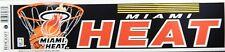 Miami Heat Vintage Bumper Sticker Rare Free Shipping!!
