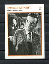 Starkarte Montgomery Clift - Plötzlich im letzten Sommer  1959   (ST8)