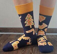 DEDOLES ~ weihnachtliche Socken ~ LEBKUCHEN ~ Damen und Herren, 35-38, 39-42