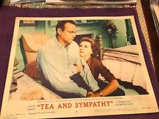 Tea And Sympathy 1956 MGM lobby card Deborah Kerr Leif Erickson
