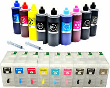 9pcsx80ml Refillable Cartridges+9x100ml UltraChrom K3 ink for Epson Stylus 3880