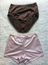 New listing Vtg Vassarette Satin Nylon Satin Spandex Set Of 2 Panties Large