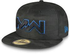 NEW ERA X CALL OF DUTY MODERN WARFARE BLACK CAMO 59FIFTY CAP  SIZE 7 3/8  LTD ED