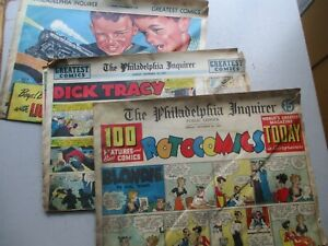 Philadelphia Inquirer Rotogravure Sunday Comics 11/20/1949 - 18 Pages!
