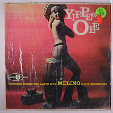 MELINO: Yippee Ole' LP (Mono, cheesecake cover, shrink, some wear on top seam)