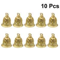 10pcs Decorative Brass Bells DIY Clothing Bag Accessories Brass Bell Pendant
