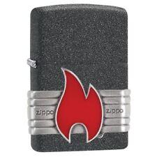 ZIPPO ★ RED VINTAGE WRAP (Emblem)