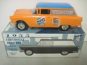 RACING CHAMPIONS 1955 CHEVROLET DELIVERY - WHEATIES CHEVY 1:25 SCALE DIE-CAST