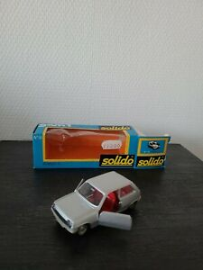 Ancienne Voiture  Solido1/43 Renault 5