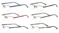 C8801 Half Rim Frames BIFOCALS BIFOCAL ANTI BLUE RAY ANTI-GLARE Reading Glasses