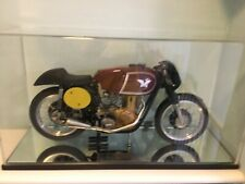 More details for matchless, 1962 g60, precision made motor bike model by 'glen english' champion.