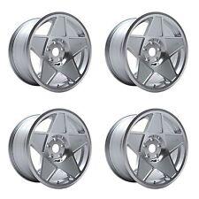 """4 x 3SDM 0.05 Silver / Cut Polished Alloy Wheels - 4x108   16x8""""   ET25"""