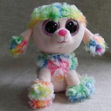 ty beanies boos Rainbow Poodle stuffed animal toy