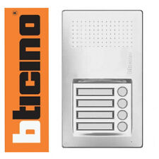 Bticino Terraneo-Linea Audio 4 bouton porte d'entrée Intercom Panel 343101