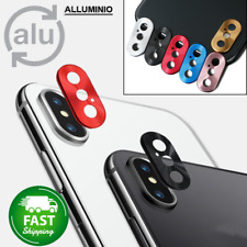 Protezione Fotocamera Iphone X Xs Max Anello Alluminio NO vetro temperato