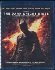 The Dark Knight Rises (Blu-ray, 2012, 3-Disc Set, Canadian) BRAND NEW