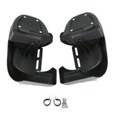 LOWER VENTED LEG FAIRINGS GLOVE BOX For Harley Road King Electra Glide Touring
