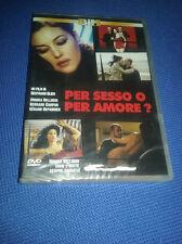 cofanetto+DVD nuovo Bellucci Campani Depardieu PER SESSO O PER AMORE?