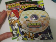MICROSOFT XBOX GAME SONIC MEGA COLLECTION PLUS BOXED MANUAL FAST POST VGC UK