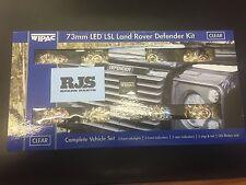 WIPAC Land Rover Defender 73mm LUZ LED Kit de mejora s6067led da1191