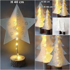 LED Weihnachts deko Weihnachtsstern Weihnachten Stern Baum beleuchtet Batterie