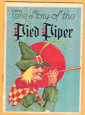 Pied Piper booklet, story & shoe ads from Younkers Dept Store, Des Moines Iowa