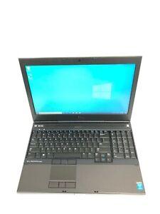 """Dell Precision M4800 15.6"""" Core i7 4810MQ 2.8GHz 16GB RAM 1TB SSD Win 10 Pro"""
