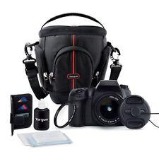 New Targus DSLR Starter Kit Essential Camera Acessories, 7-piece Deluxe Set