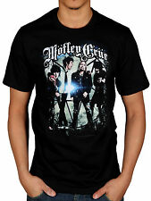 Official Motley Crue Group Photo T-Shirt All Bad Things Alice Cooper Dr Feelgood