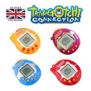 TAMAGOTCHI Electronic Cyber Pet Retro Toy Nostalgic Virtual Game 90's Keyring