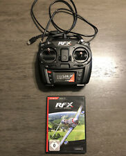 Real Flight Experience RF-X Version 1 Flight Simulator With Controller Joystick